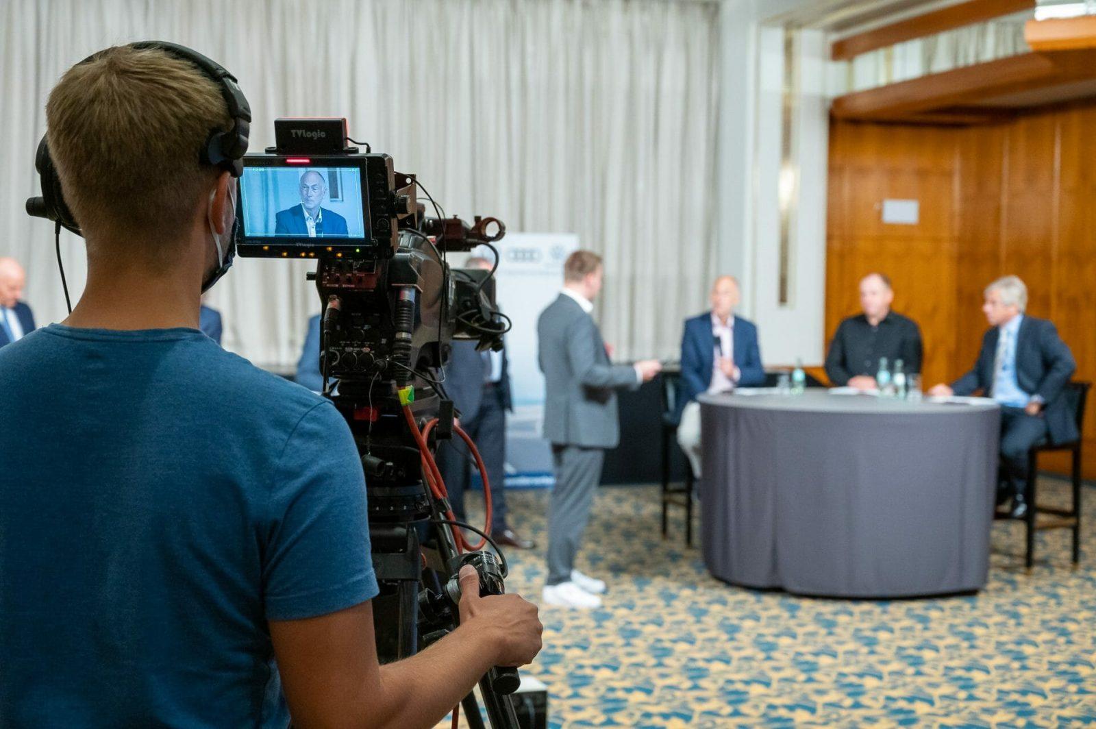 Livestream TV Studio im Hotel